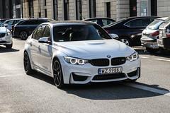 Poland (Warsaw-Zachodni) - BMW M3 F80 (PrincepsLS) Tags: poland polish license plate wz warsaw spotting bmw m3 f80