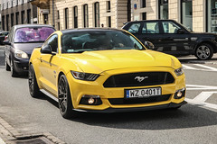Poland (Warsaw-Zachodni) - Ford Mustang GT 2015 (PrincepsLS) Tags: poland polish license plate wz warsaw spotting ford mustang gt 2015