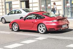 Poland (Warsaw-Zachodni) - Porsche 996 Turbo (PrincepsLS) Tags: poland polish license plate wz warsaw spotting porsche 996 turbo