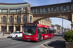 YOR_134 (Stuart's Transport) Tags: bus uk harrogate transdev northyorkshire singledeck harrogatebuscompany volvob7rle wrightbus oig3707 wrighteclipseurban 1713 8