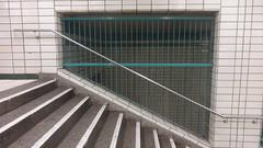 1969/73 Berlin-O. U-Bahnhof Tierpark U5 Am Tierpark in 10319 Friedrichsfelde (Bergfels) Tags: friedrichsfelde ubahnhof ubahn u5 berlino beschriftet 10319 berlinerubahn bergfels ziergitter 196973 ubahnhoftierpark architekturführer amtierpark berlin 1969 ddr ostberlin 1960er 20jh