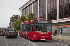 YOR_130 (Stuart's Transport) Tags: bus uk harrogate transdev northyorkshire singledeck harrogatebuscompany 1c 1701 h1esu volvob7rle wrighteclipseurban wrightbus