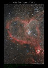 Nebulosa Cuore - IC1805 (AstroBetta) Tags: ic1805 astropixelprocessor astrofotografia cassiopea nebula nebulosacuore night stars astrometrydotnet:id=nova3617363 astrometrydotnet:status=solved