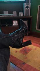 When she wants to tease me... (Curto_um_pezinho) Tags: sexy feet foot shoes highheel legs boots butt sensual pés pernas bunda pezinhos sapatos saltoalto lésbica lesbian
