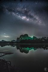 Milky Way - 8 Nongtalay | Krabi Thailand (kachaneawsuparp) Tags: sony sonya7rii summer a7 a7rii asia cityscape landscape lens l fe fullframe f28 fulframe emount 35mm 1635gm 1635 1635mm gmaster gm krabi nongtalay thailand peatkacha