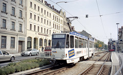 2003-08-13 Görlitz Tramway Nr.302 (beranekp) Tags: germany deutschland görlitz tramvaj tram tramway tranvia strassenbahn šalina elektrika električka 302