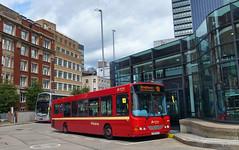 UK - Manchester bus (onewayticket) Tags: bus transport urban arriva vdl sb200 vdlsb200 wright cx06bjy