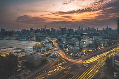 Golden Hua Lamphong Station  | Bangkok Thailand (kachaneawsuparp) Tags: sony sonya7rii summer a7 a7rii asia cityscape landscape lens l fe fullframe f28 fulframe emount 35mm 1635gm 1635 1635mm gmaster gm thailand bangkok peatkacha