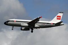 G-EUPJ Airbus A319-131 EGLL 20-08-19 (MarkP51) Tags: geupj airbus a319131 a319 britishairways ba baw bea retrocolours retro london heathrow airport lhr egll england airliner aircraft airplane plane image markp51 nikon d500 nikonafp70300fx