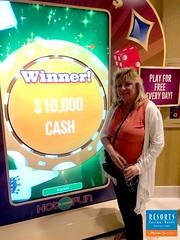 Pamela M. $10,000 High-Low Challenge Winner - June 2019
