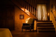 Room with a chair (Roderick van der Steen) Tags: sonyalpha sonya7s sony zeissmilvus50mmf14distagon zeiss milvus1450 f14 novoflex naturallight dof evening france landes