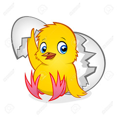 newborn chicken (oregonaitc) Tags: chick chicken bird newborn baby little small egg shell broken vector illustration stylized style character creature decorative design art drawing modern yellow cheerful happy childish fun isolated beautiful happiness wing sweet new hen hatched hatch funny animal fluffy nice friendly hatchling farm adorable tiny birth life childhood creative