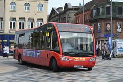 D&G Bus Optare Solo SR 105 YJ13HNE - Hanley (dwb transport photos) Tags: dgbus optare solo bus 105 yj13hne hanley