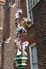 Heraldic animal (maggie jones.) Tags: england royal leopard spotted