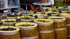 Les Halles de Béziers (Jorge Franganillo) Tags: béziers hérault france occitanie francia europe europa mercado market marché halle olives olivas aceitunas encurtidos marketplace