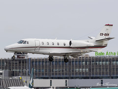 NetJets Cessna 560XL Citation CS-DXH (birrlad) Tags: dublin dub international airport ireland aircraft aviation airplane airplanes airline airlines airliner airways bizjet private passenger jet arrival arriving approach finals landing csdxh cessna 560xl citation xls c56x netjets fraction