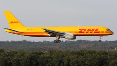 D-ALEQ EAT Leipzig Boeing 757-2Q8(PCF) (°TKPhotography°) Tags: boeing 757 eat leipzig dhl airways planespotting canon 7d flickr photography photo