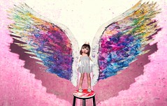 """""""What if I fall?"""" """"My darling, what if you FLY?"""" (penelope_mm) Tags: secondlife toddleedoo focusposes slkids"""