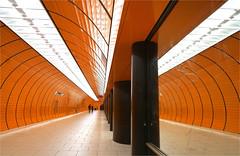 Marienplatz (leuntje) Tags: munich münchen bavaria bayern germany deutschland marienplatz ubahn ubahnhof metro underground subway architecture alexandervonbranca
