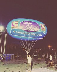 Indian Idol Advertising Sky Balloons  Indian Idol Sky Balloons by Ganesh Sky Balloon Delhi, India. #Indian #Idol #Sky #Balloons Ganesh Sky Balloon is the largest Manufacturer of Sky Balloons in Delhi. We are manufacturing sky Balloons in many shapes. Indi (Ganesh Sky Balloons) Tags: sky indian idol balloons