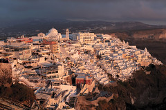 Thira (josullivan.59) Tags: 2019 agean greece greek island may santorini thira caldera cyclades day detail europe evening goldenhour historical islands landscape light nicelight old outdoor outside scenic sunset sunsetlight telephoto travel wallpaper warm white weather 3exp greekislands
