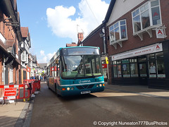DK55FYW 2555 Arriva Buses Wales in Chester (Nuneaton777 Bus Photos) Tags: arriva buses wales wright cadet dk55fyw 2555 chester