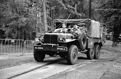 Dodge WC (Ronald_H) Tags: dodge wc santa fe overloon war museum jch 400 streetpan 2019 black white military truck wwii event