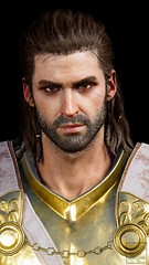 Alexios as Deimos (ilikedetectives) Tags: alexios deimos portrait villain greek gaming gamecaptures game ingamephotography videogames virtualphotography screenshot