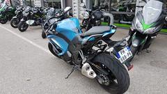 Essai d'une Kawasaki Z1000SX (Darkaeons) Tags: kawasaki z1000sx z 1000 sx bleue 2019 moto motorbike