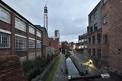 Canal, Livery Street, Birmingham 25/05/2019 (Gary S. Crutchley) Tags: birmingham city centre uk great britain england united kingdom urban cityscape west midlands westmidlands nikon d800 livery street and fazeley inland waterway canal navigation cut bcn narrowboat lock walsall junction wyrley essington canalscape scape travel