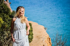 Cami (Samu M. García) Tags: dress whitedress nature photography photographer outdoors model modelo nikon5100 summer fotografía fotógrafo algarve albufeira portugal