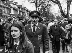 DSC_7415_epgs (Eric.Parker) Tags: april 19 easter 2019 goodfriday procession littleitaly stfrancis assisi church stfrancisofassisi college street jesus christ stationsofthecross christian christianity brassband toronto palm bw