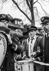 DSC_7414_epgs (Eric.Parker) Tags: april 19 easter 2019 goodfriday procession littleitaly stfrancis assisi church stfrancisofassisi college street jesus christ stationsofthecross christian christianity brassband toronto palm bw