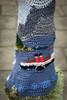 wee crafty waverley (werewegian) Tags: wee crafty yarnbomb waverley ship wool knitted werewegian aug19