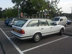 BMW 520i Touring 1996 (929V6) Tags: sz415f e34 5