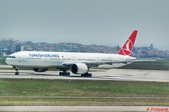 TURKISH AIRLINES B777 TC-LJF (Adrian.Kissane) Tags: 777 boeing airline airliner aircraft aeroplane jet plane turkey aviation runway sky airport departing outdoors 44127 942018 b777 tcljf ataturk istanbul turkish
