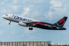 "[CDG] Onur Air ""GGM Gastro"" Airbus A320-214 _ TC-ODE (thibou1) Tags: thierrybourgain cdg lfpg spotting aircraft airplane nikon d810 onurair airbus a320 tcode ggmgastrolivery tamron sigma takeoff a320200 a320214"