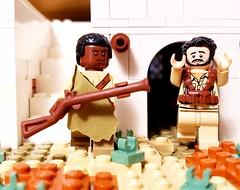 Arbegnoch fighter, Battle of Gondar, 1941 (brickhistorian) Tags: africa allies resistance italy ethiopian war world ww2 wwii minifig minifigure lego legos history military