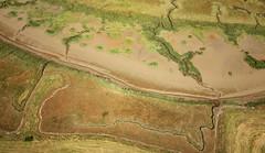 Yantlet Creek - Allhallows Marshes, the Hoo Peninsular (Alan Denney) Tags: kap kiteaerialphotography aerial hoopeninsular kent thames marsh mud