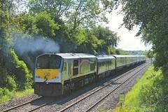 Trummery, 28/05/2019 (Milepost98) Tags: ni northern ireland irish railway train nir railways translink enterprise ié rail gm brick diesel locomotive trummery lc lisnabella 228 moira