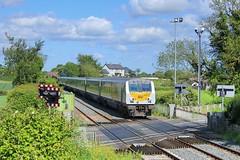Trummery, 28/05/2019 (Milepost98) Tags: ni northern ireland irish railway train nir railways translink enterprise dedietrich dd dvt driving trailer trummery lc lisnabella 9002 moira