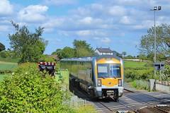 Trummery, 28/05/2019 (Milepost98) Tags: ni northern ireland irish railway train nir railways translink c3k 3000 class 3020 caf railcar dmu trummery lc lisnabella moira