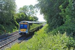 Trummery, 28/05/2019 (Milepost98) Tags: ni northern ireland irish railway train nir railways translink caf railcar dmu c3k 3000 class 3020 trummery lc lisnabella