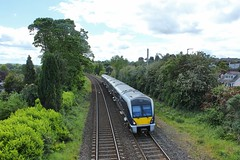 Lambeg, 28/05/2019 (Milepost98) Tags: ni northern ireland irish railway train nir railways translink c4k 4000 class 4019 caf railcar dmu lambeg halt station