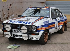HNO 57T (Nivek.Old.Gold) Tags: 1979 ford escort popular plus 2door rothmans 10 rally 1993cc mk2