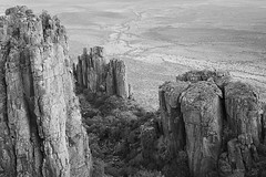 Valley of desolation (dawid.loubser) Tags: canoneosr ef50mmf12lusm monochrome landscape landscapes rawtherapee