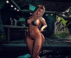 Let me be your motivation... (autumn.fairlane) Tags: beach bar secondlife summer truth truthhair blonde bikini