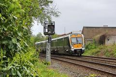 Belfast, 28/04/2019 (Milepost98) Tags: ni northern ireland irish railway train nir railways translink
