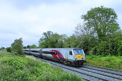 Broomhedge, 29/05/2019 (Milepost98) Tags: ni northern ireland irish railway train nir railways translink enterprise dedietrich dd dvt driving trailer 9001 broomedge