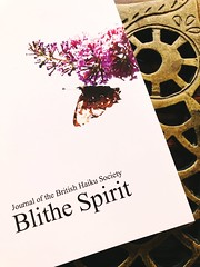 Fresh from the Royal Post, Blithe Spirit 29:3, the journal of the British Haiku Society, arrived today. Thrilled to have 3 pieces contained within. ~ #BlitheSpirit #BritishHaikuSociety #haiku (Ben Moeller-Gaa) Tags: blithespirit britishhaikusociety haiku